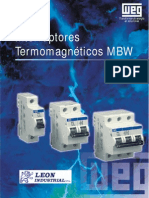 Manual Interruptores Termomagneticos MBW
