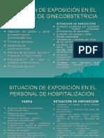 Situación de Exposición en El Sector Salud