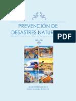 Prevención de desastres naturales