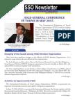 IFSSO Newsletter Jan-Mar 2015