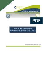 Manual Lab Clinico de analisis para Practicas