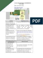 VALIDACIÓN SITIO WEB