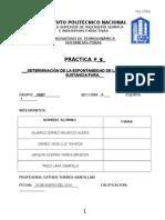 PRACTICA6 Termodinamica de las sustancias puras