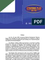 Strategic Plan Kementrian Kelautan dan Perikanan 2011