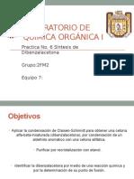 Practica 6 Síntesis de dibenzalacetona