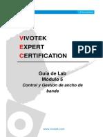 Guía de Lab- Módulo 5 - VIVOTEK Control y Gestión de Ancho de Banda_20130228