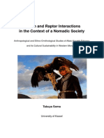 Takuya Soma (2014) Human and Raptor Interactions in the Context of a Nomadic Society