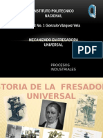 Fresadora Universal
