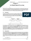 Multirate Signal Processing_Ch9