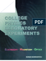 College Physics Laboratory Experiments-Electricity, Magnetism, and Optics By Roman Keserashvili.pdf