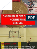 sport school open house feb 2014