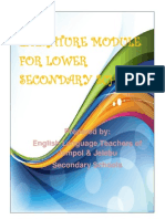Literature Module for Lower Secondary Schools