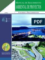Manual de Seguimiento Ambiental de Proyectos - Criterios y Procedimientos