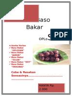 Baso Bakar Brosur
