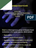 Gout Kronik
