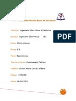 235500875 Informe Previo de Electrotecnia N 3 FIEE UNMSM