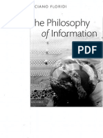 Floridi.the Philosophy of Information
