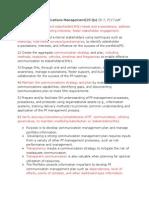 Portfolio Communication Management