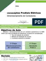 Instalações Prediais Elétricas - Dimensionamento de Condutores.pptx