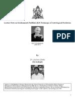Lecture Note on Krishnamurti Paddhati