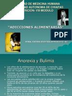 ADICCIONES ALIMENTARIAS