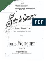 Mouquet Solo de Concours