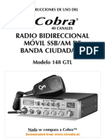 Manual Cobra 148GTL ESP