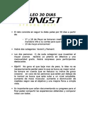 dieta paleo pdf gratis