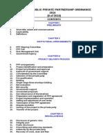 Punjab Public Private Partnership Ordinance 2014original .Doc