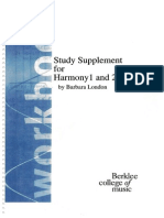 Berklee - Study Supplement for Harmony 1 and 2
