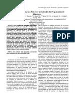 Sistema Termosolar para Procesos Industriales de Preparación de Alimentos