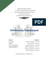 Procesos Administrativos. Comunicación Organizacional