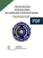 Lingkungan Operasional Keuangan Perusahaan1
