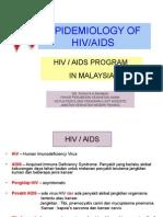 Epidemiologi of Hiv.aids Global, m'Sia & Phg.