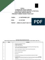 Modul Teks Pengacara Majlis