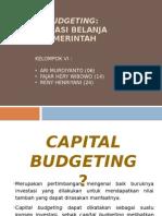 Capital Budgeting Optimalisasi Belanja Modal Pemerintah