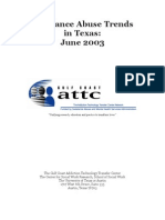 Substance Abuse Trends in Texas, June 2003