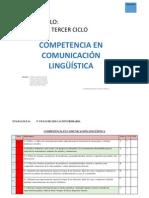 Indicadores Para Trabajar La Competencia Linguistica