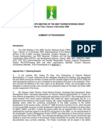 Proceedings of the Twenty Fourth Meeting of the GMS Tourism Working Group (TWG -24)