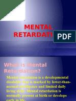 Mental Retardation Ppt