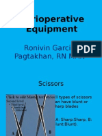 Perioperative Equipment