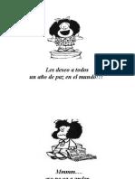 Feliz año con Mafalda