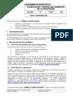 PE701 Planificacion y Control Del Suministro de La Capacitación