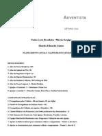 Planejamento Anual e Calendário Distrito Eduardo Gomes Se 2015