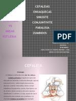Patologias vs Áreas Reflexas
