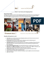 Interior World – Your Partner for Designing Needs