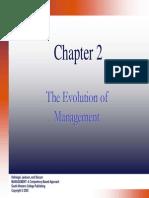 Management 002 Evolution