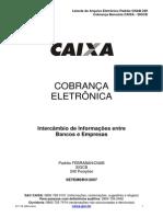 Layout Da Remessa - SIGCB - Cobrança 240