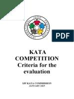 Ijf Kata Evaluation Jan 2015