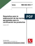 NB ISO IEC 7_1995